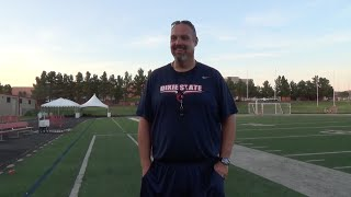 Coach Scott Brumfield Fall Camp Recap