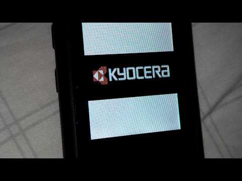 Kyocera Qualcomm 3G CDMA Boot Up