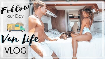 Follow our Day | 1 Tag mit Hund im Camper VLOG | KaroLovesMilka