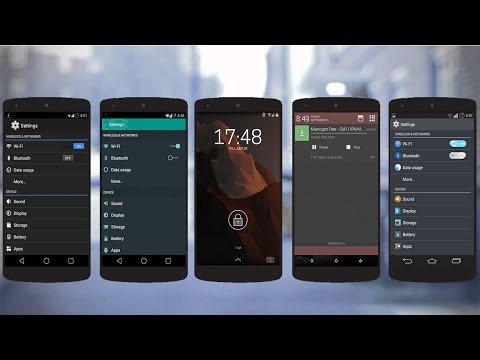 Top 5 Free CM11 Themes For Android L - CyanogenMod