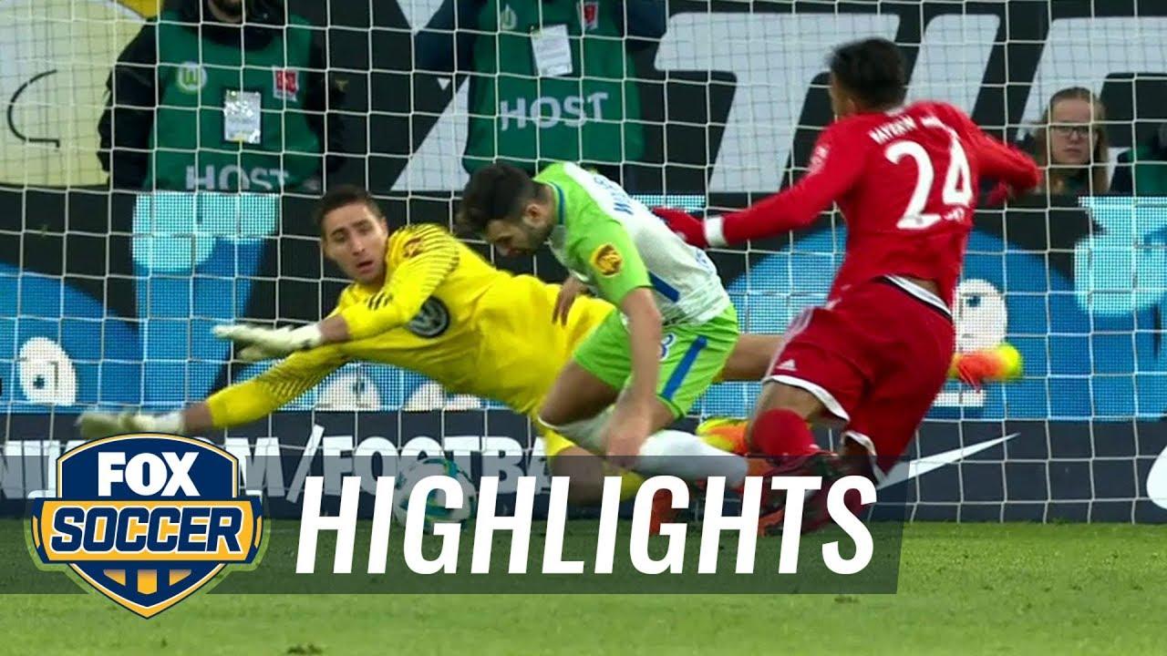 Wolfsburg Bayern Highlights