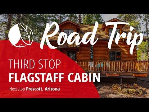 Log Cabin Rental For A Peaceful Retreat In Flagstaff, Arizona