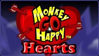 Monkey Go Happy Hearts Gameplay Full Walkthrough