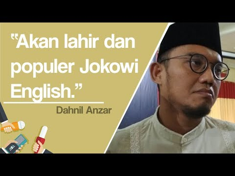 Soroti Bahasa Inggris Jokowi, Dahnil Anzar: Tak Usah Di-bully, Akan Lahir Dan Populer Jokowi English