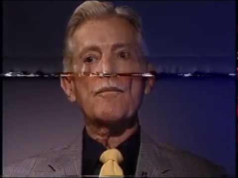 Robert Cummings and Son--Rare 1987 TV Interview