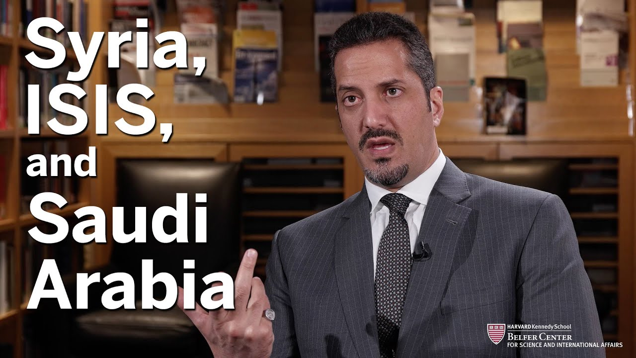 Saudi Arabia's Prince Sultan on Syria, ISIS, and the Arab Spring