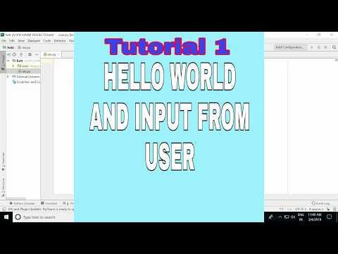 Learn Python programming from basic python app installation to advance ai tutorial 1 thumbnail