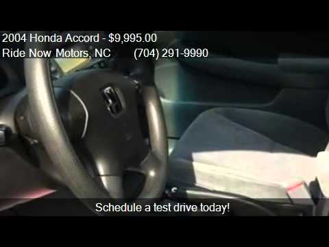 2004 honda accord lx sedan 4d for sale in monroe nc for Ride now motors monroe nc