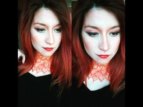 Főnix smink/Phoenix makeup/beautycake/