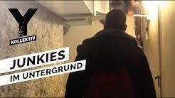 Münchens Drogen-Katakomben - Junkies im Untergrund