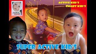 SUPER ACTIVE BABY - PLAYING CAR TOYS / BALITA SUPER AKTIF - BERMAIN MOBIL MOBILAN