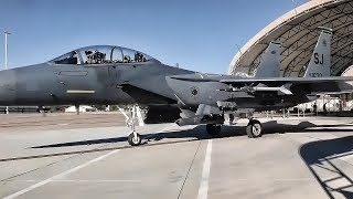USAF Monthly F-15E Strike Eagle Exercise