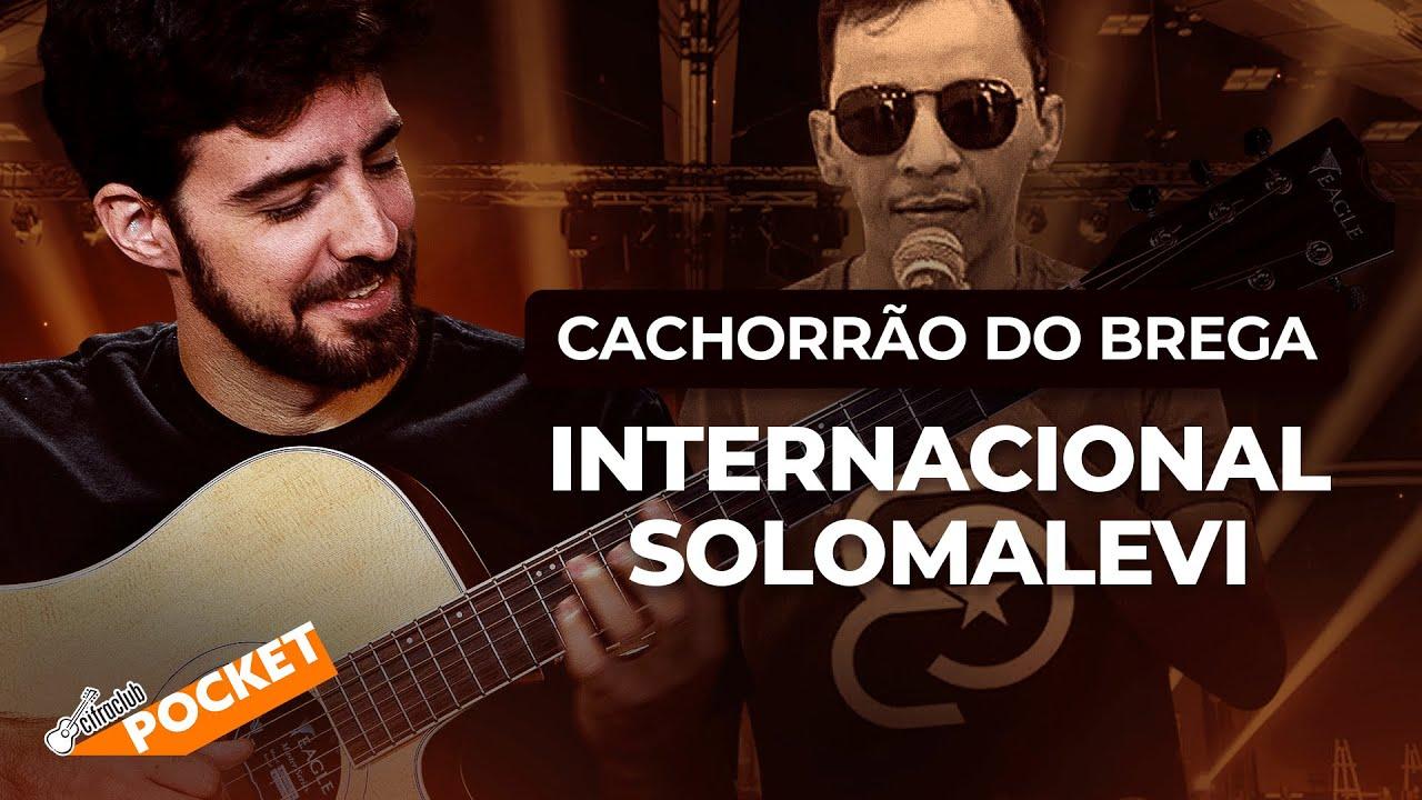 APRENDA A TOCAR INTERNACIONAL DO CACHORRÃO DO BREGA   CIFRA CLUB POCKET