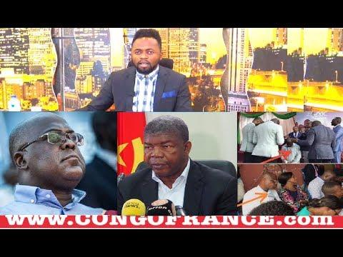 Actualité 04 02 2019 F.Tshisekedi à Luanda avant Nairobi et Brazzaville + FAYULU à L'église avec FAT