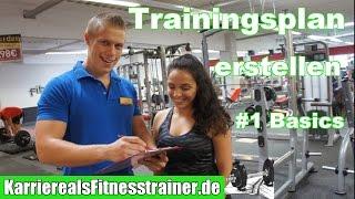 So machst du einen Bomben-Trainingsplan als Fitnesstrainer #1 Die Basics Trainingsplanerstellung