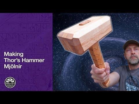 Making Thor's Hammer - Mjölnir