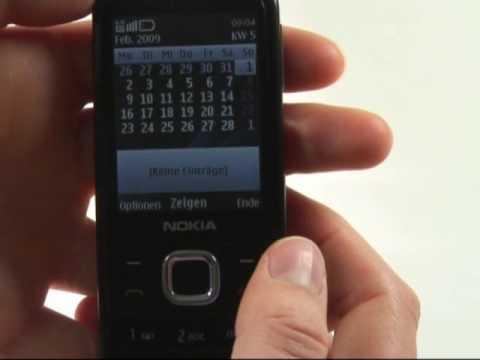 Nokia 6700 classic Test Bedienung