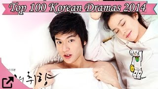 Video Top 100 Korean Dramas 2014 (All The Time) download MP3, 3GP, MP4, WEBM, AVI, FLV April 2018