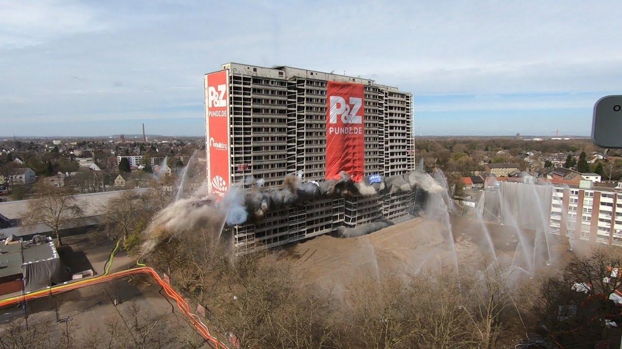 Sprengung Weisse Riesen Duisburg