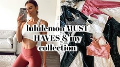 Lululemon Must Haves + My Collection