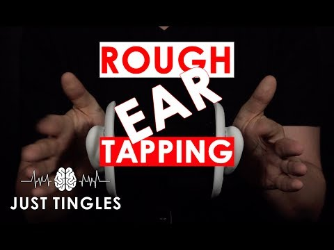 ASMR | Fast Rough Ear Tapping | NO TALKING | 1 Hour | 3 Dio