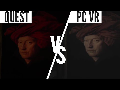 Layers of Fear VR Quest vs Rift vs Daydream Graphics Comparison