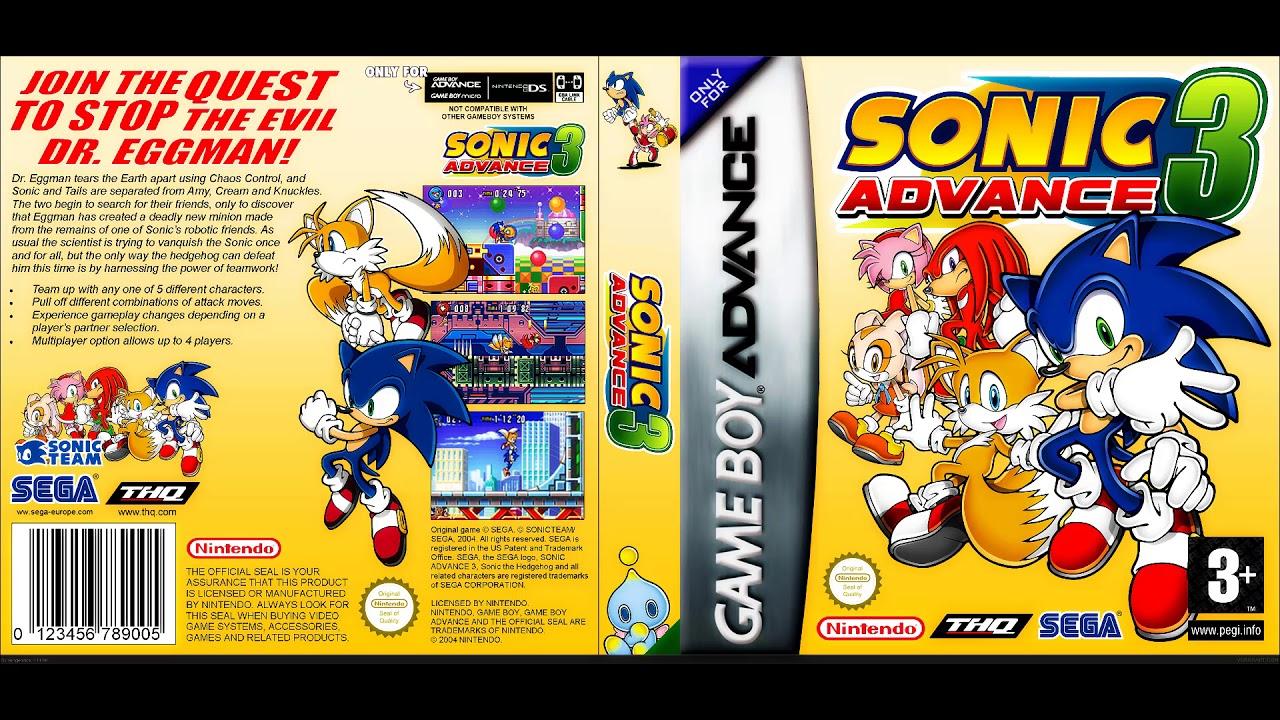 Sonic advance 3 ex boss