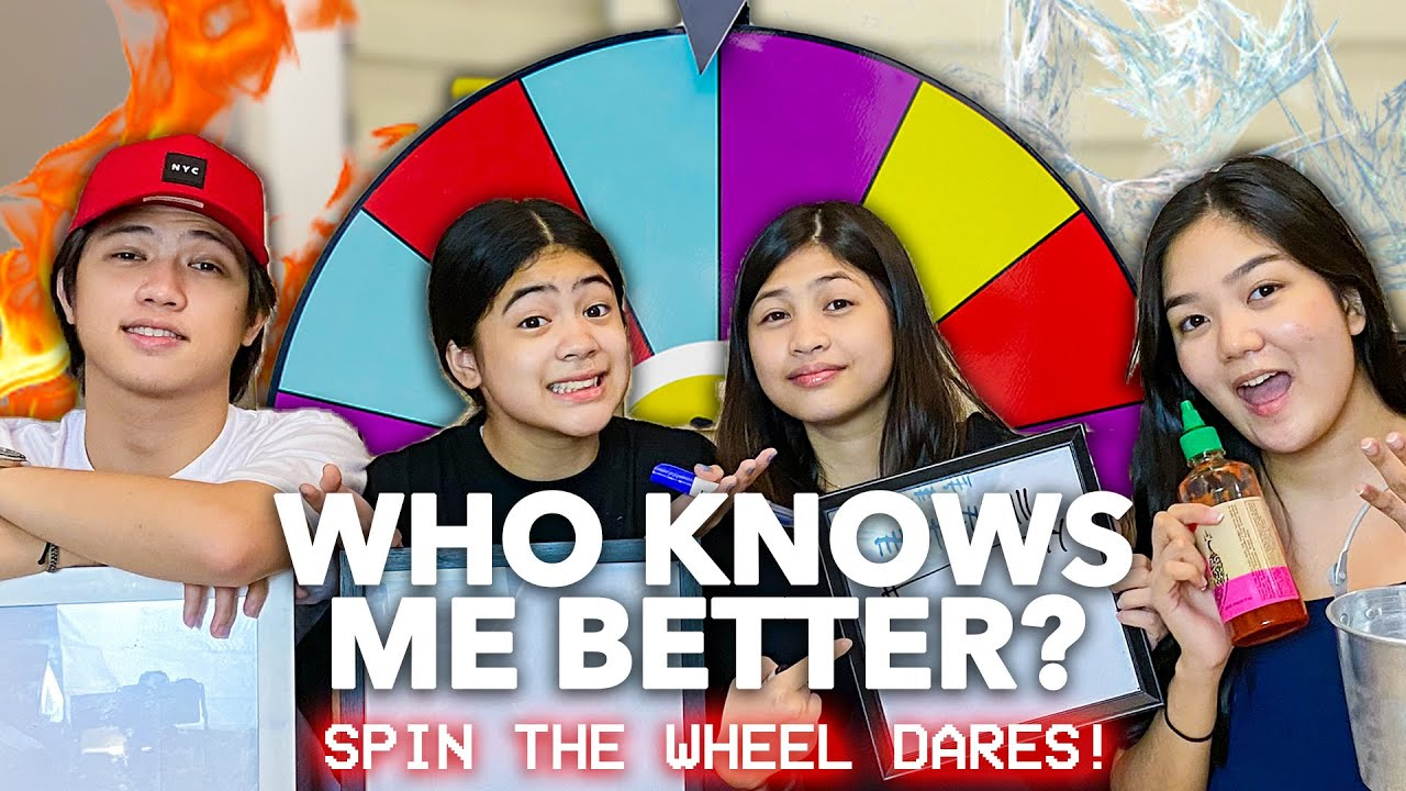 Download Who Knows Me Better Challenge (Siblings Edition!) | Nina Stephanie