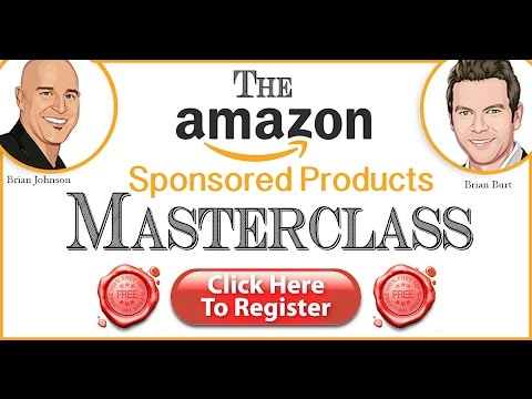 The Amazon Sponsored Products Masterclass with Brian Burt & Brian Johnson