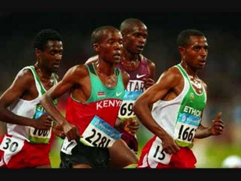 Kenenisa Bekele won the 10,000 metres at the Beijing Olympic