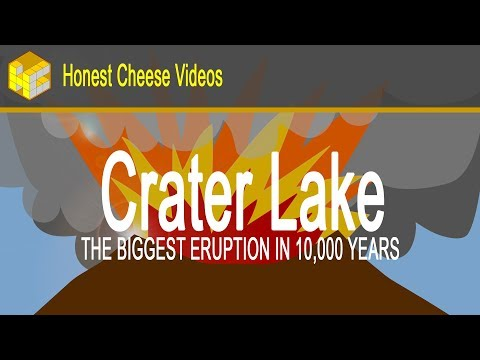 Crater Lake: The Biggest Eruption In 10,000 Years!