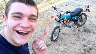 MY FIRST DIRT BIKE!!! *Extreme Speed*