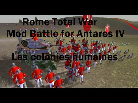 Rome Total War,mod Battle For Antares IV,épisode 21 : défaite pour les trogs !