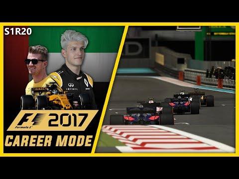 CRAZY FINALE!!! F1 2017 CAREER MODE PART 20 l ABU DHABI!!