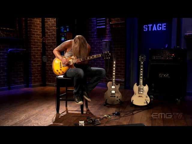 Richie Faulkner of Judas Priest rocks incredible guitar solo on EMGtv