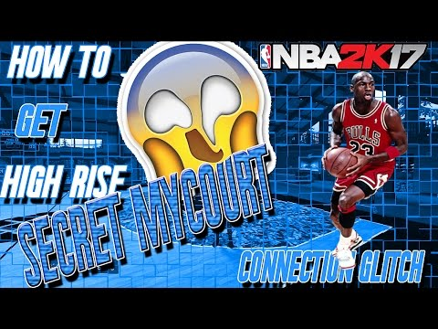 How to get Michael Jordan High Rise court in NBA 2K17! Secret MyCourt The Lodge! Connection Glitch!