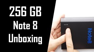 256GB Note 8 Unboxing