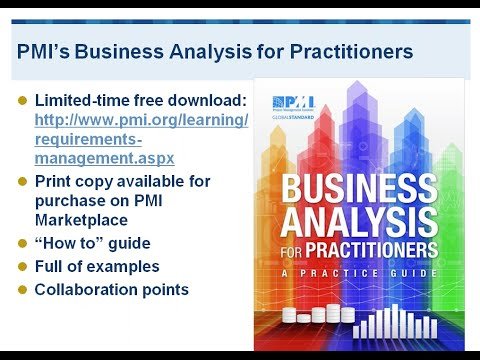 IIBA's BABOK Guide and PMI's Business Analysis for Practitioners Guide