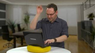 Toshiba TubeTop - World's First Inflatable Laptop