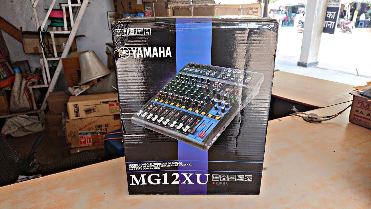 Yamaha MG12XU 12-Input Stereo Mixer UNBOXING & REVIEW