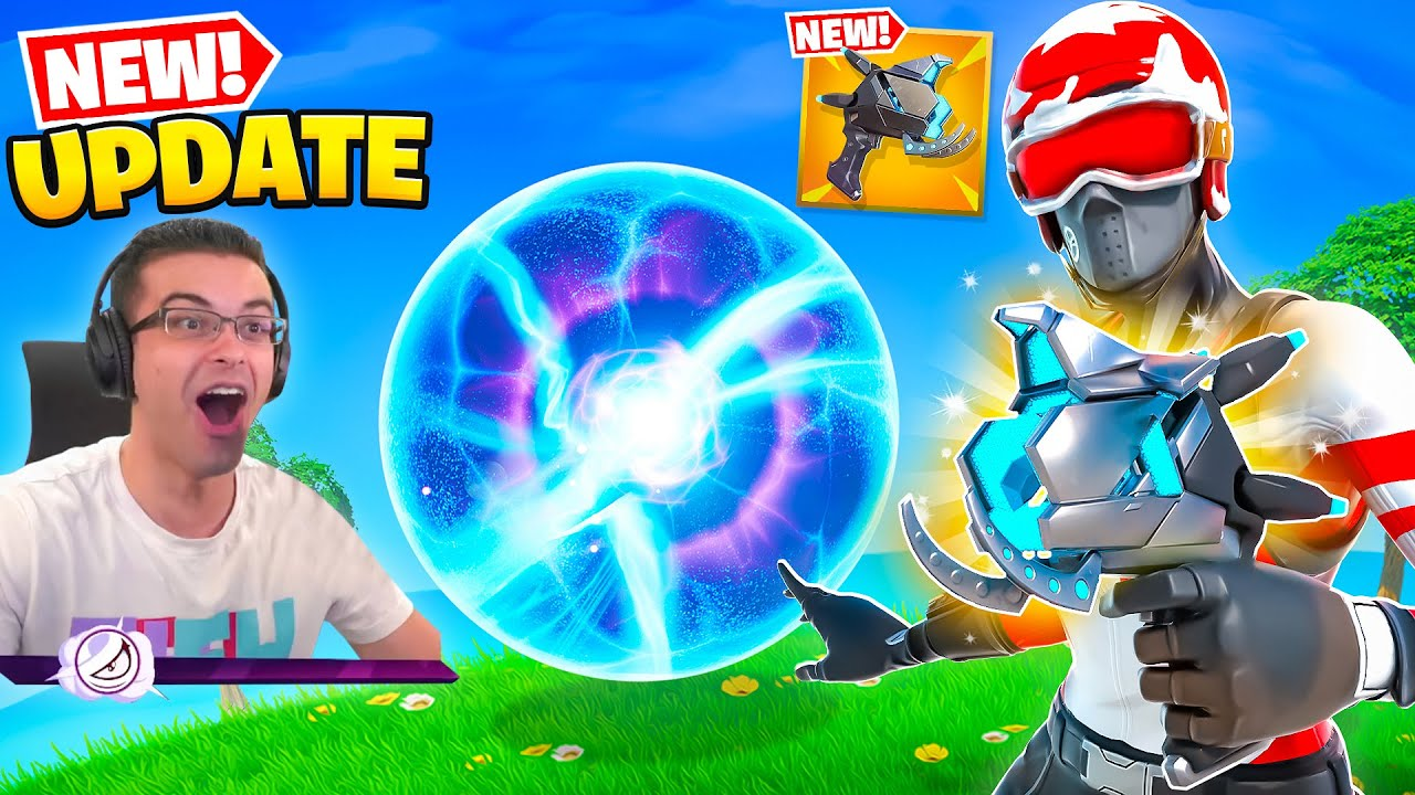 Nick Eh 30 reacts to NEW Plasma Cannon!