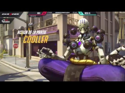 MIX vs MSH+6 ► GOSUGAMERS OVERWATCH WEEKLY EUROPE #7 [FR] - 2/4