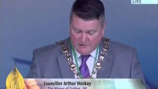 Arther Hookay, The Mayor of Sutton at Jalsa Salana UK 2014