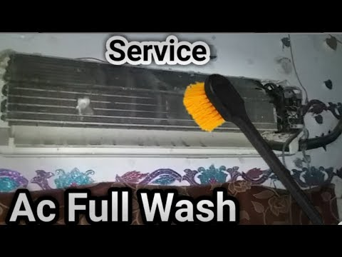 How to complete wash Ac/AC service in Urdu/Hindi |Fully4world