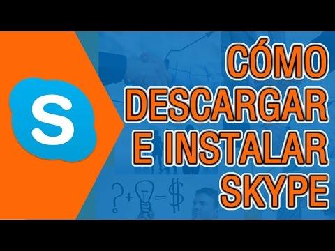 Como Descargar e Instalar Skype para Windows 7  8  10