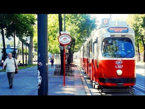 Vienna Downtown City Center Zentrum Wien Innere Stadt Vienna & Transportation Trams Buses by The Tou