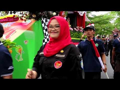 Bakesbangpol Mengikuti Festival Kendaraan Hias Tahun 2019 Di Depan Balaikota Malang