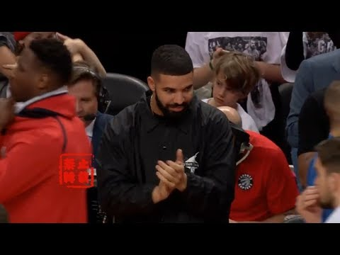Drake Shuts Up John Wall Trash Talker And Told Him The Series Was Over!