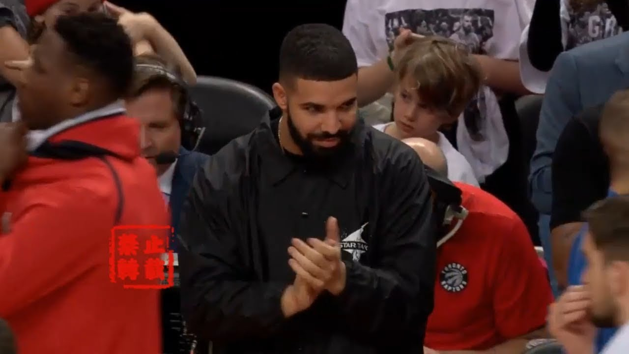 Drake Gives The Raptors Energy Then All The Way Up