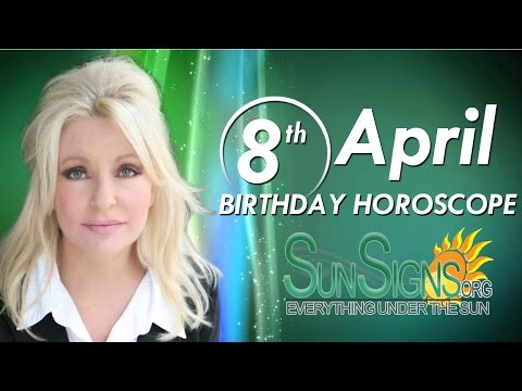 Birthday April 8th Horoscope Personality Zodiac Sign Aries Astrology